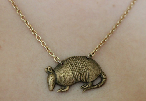 Elsie Belle Armadillo Necklace