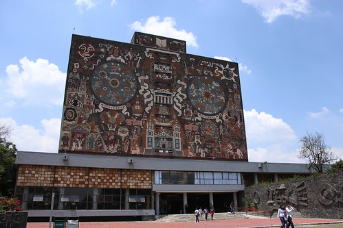Biblioteca central, Ciudad Universitaria.