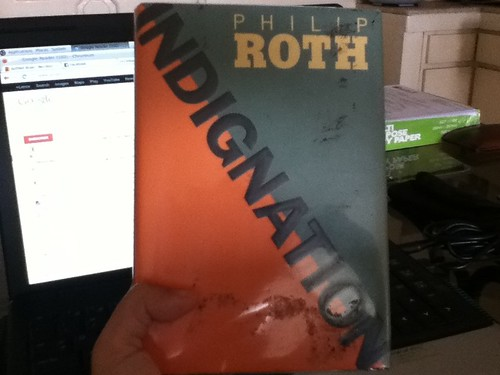Philip Roth, Indignation, at National Bookstore, for Php 99!