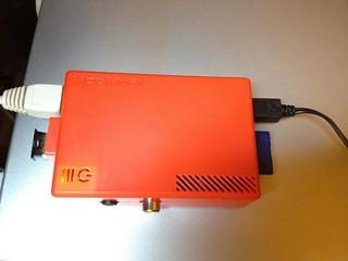 Raspberry Pi with Bluetooth nano dongle