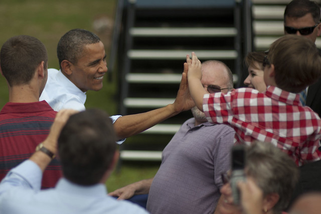 Barack Obama in Rochester — August 18th