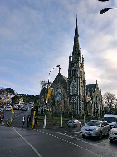 Knox Church,  Dunedin, NZ