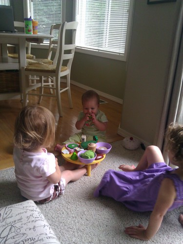 Davis loves tea parties