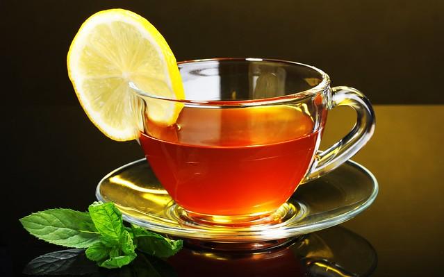 чай с лимноном