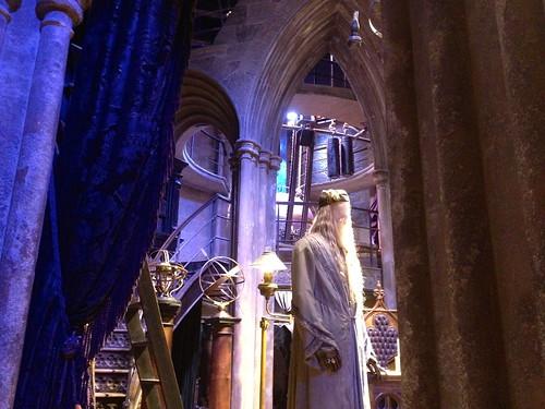 Inside Dumbledore's office