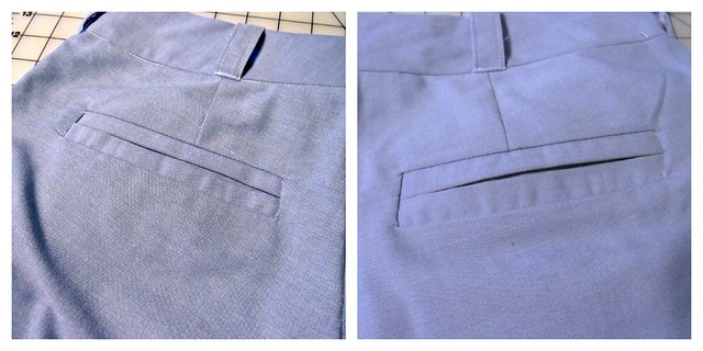 Thurlow Shorts - welt pockets