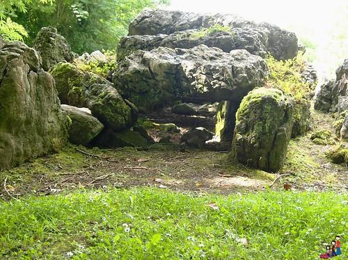 Inside the Giant's Grave