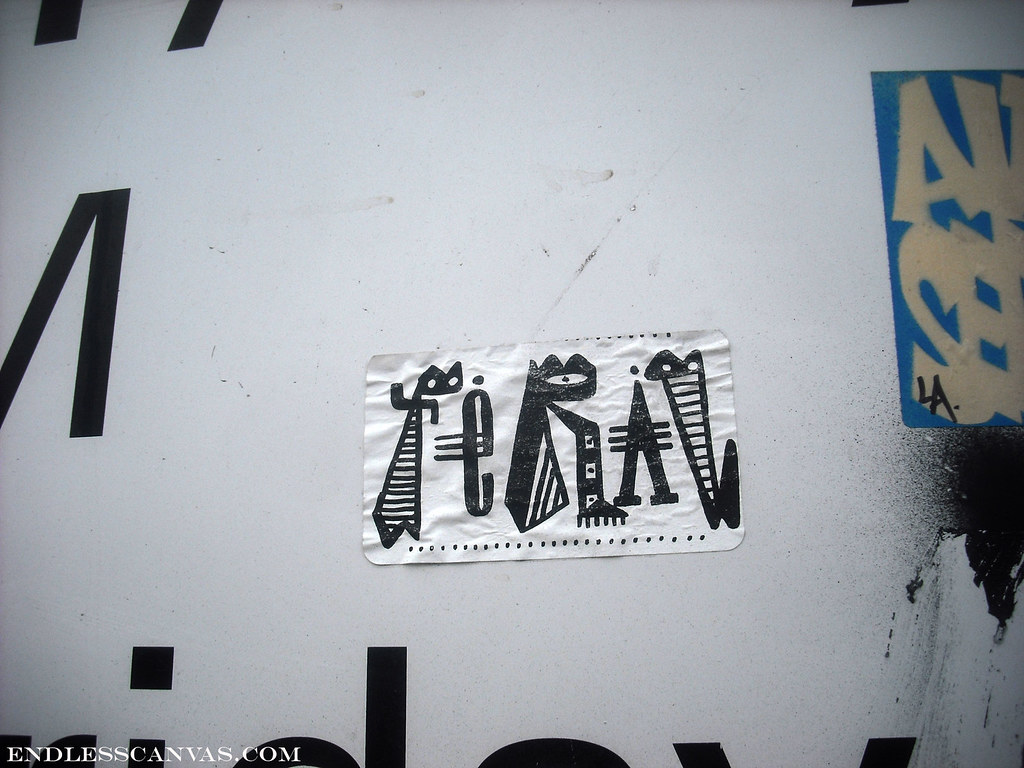 FERAL sticker - Oakland, Ca