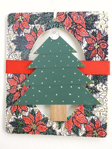 Hanging Christmas Tree Frame