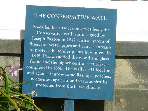 The Conservative Wall ... at Chatsworth