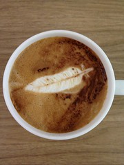 Today's latte, Apache.