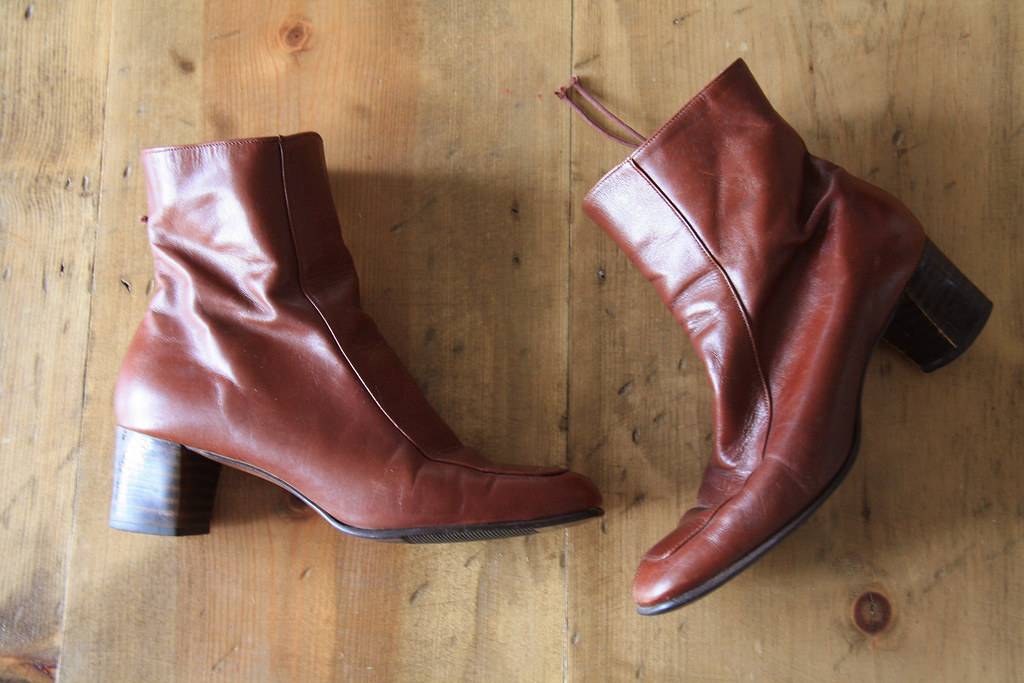 1970s ankle boots