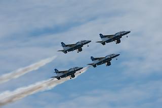Air Show at Iruma Air Base 2012 - Blue Impulse