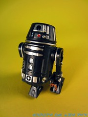 Black R6-Series Astromech Droid