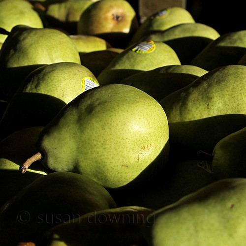 Pears at the Market
