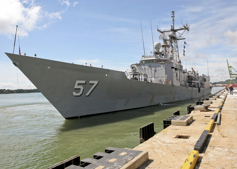 USS Reuben James arrives in MUARA, Brunei