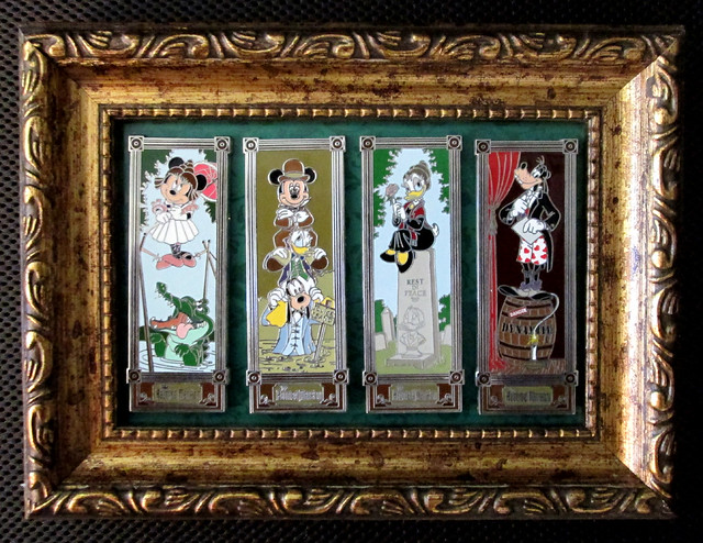 haunted mansion stretching portrait pins