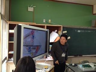 2012/11/6 大阪府守口市立橋波小学校のICTを活用した教育を視察