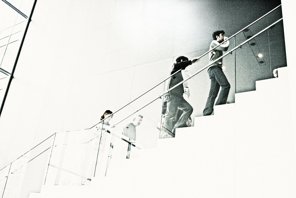 Flight of Stairs, Not on Exhibit, MoMA
