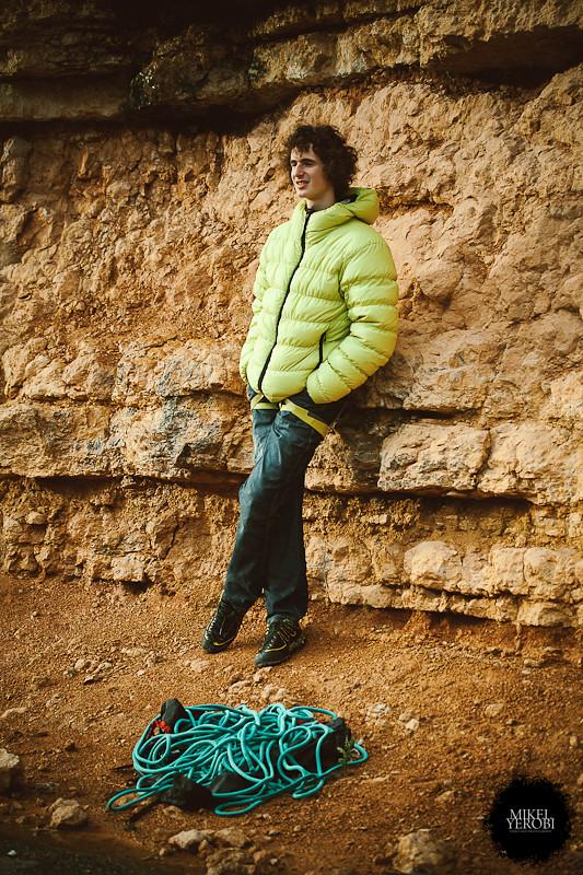 Climbing at margalef Patxi Usobiaga & Adam Ondra