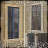 paris mesh window textures