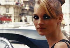Kate Moss Paris 1995