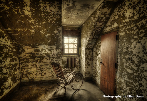 Wheelchair - Pennhurst Asylum