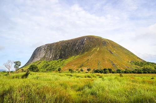 Montagnes près de Bocoio