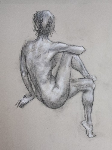 Life Drawing 1, Dundee Art Society 14th April