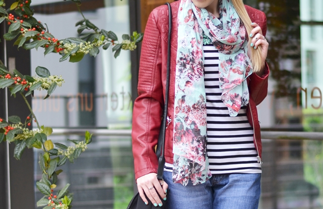 Outfit rote Lederjacke (3)