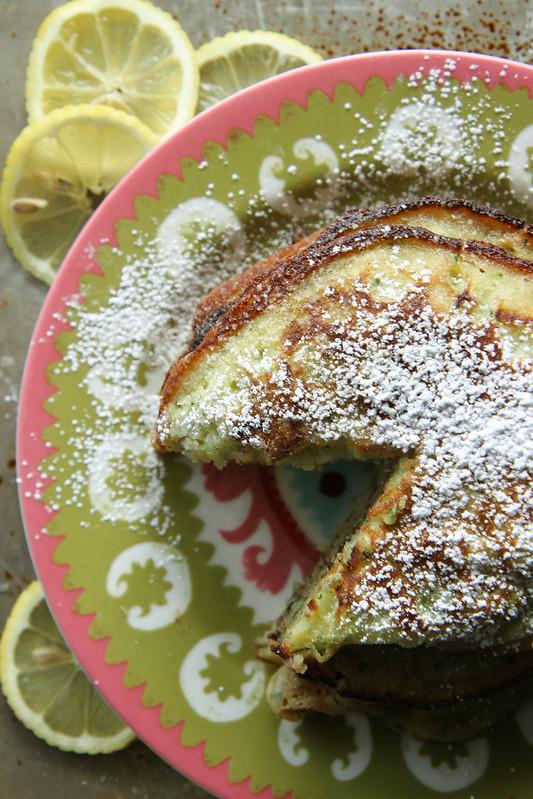 Lemon Zucchini Pancakes