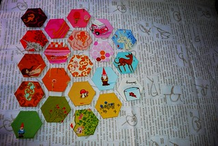 modern she made - spread hexies