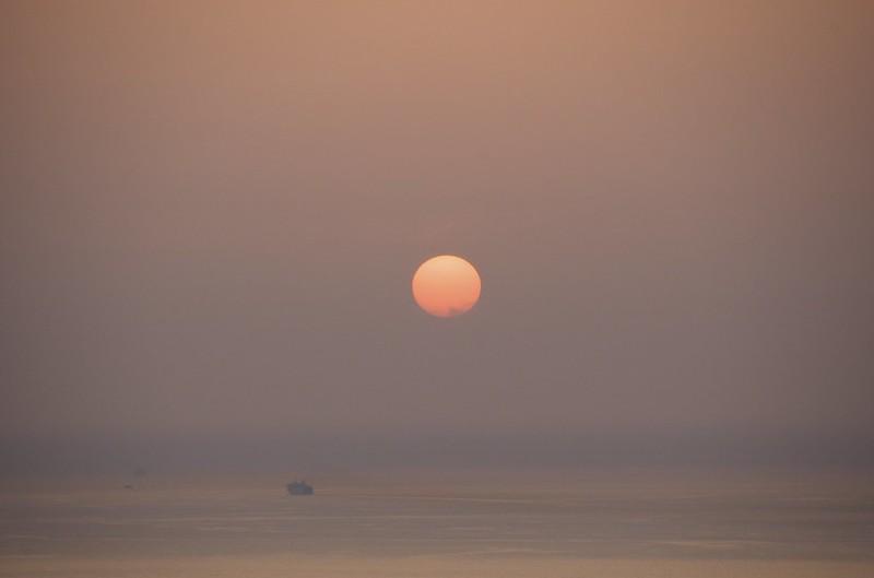 Sunset AJA