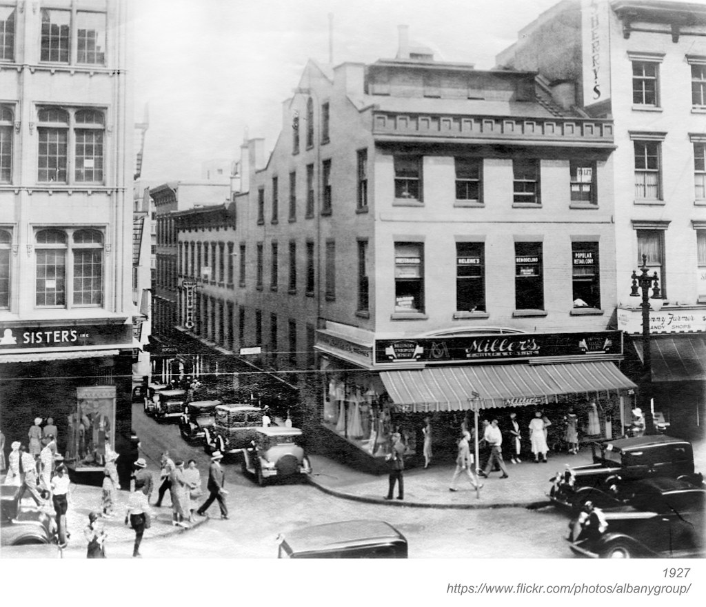 maiden lane and N. pearl  1927  albany ny  1920s