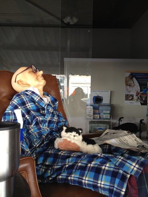 Mannequins at Alabama Home Respiratory, Greensboro AL