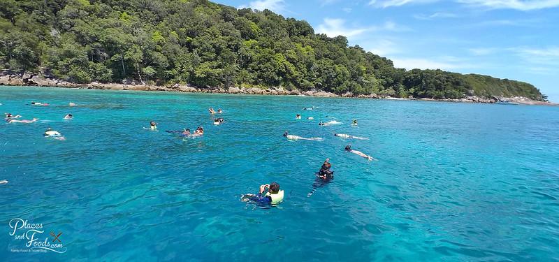 tachai island snorkeling group