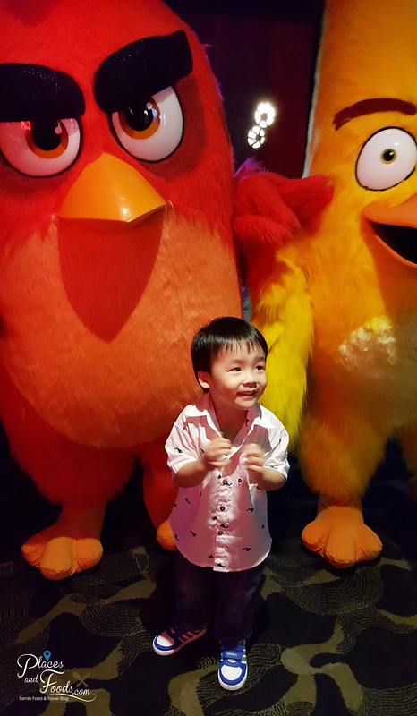 mcD angry birds screening two birds with zen