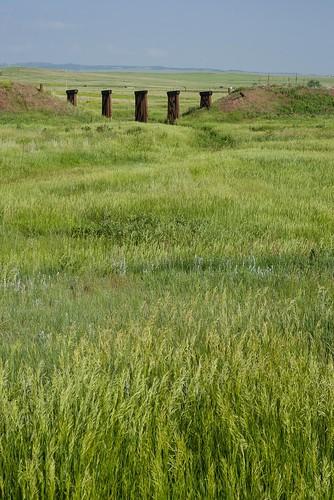 railroad bridge abandoned grass colorado plains rockisland crip chicagorockislandandpacific