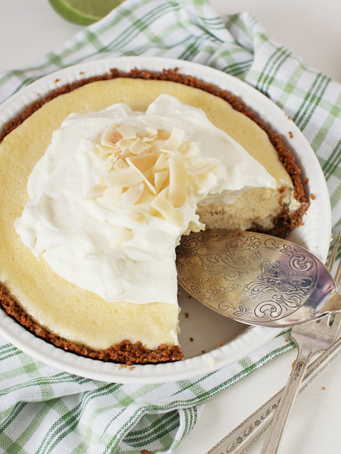 key lime pie with homemade graham cracker crust | Flickr - Photo ...
