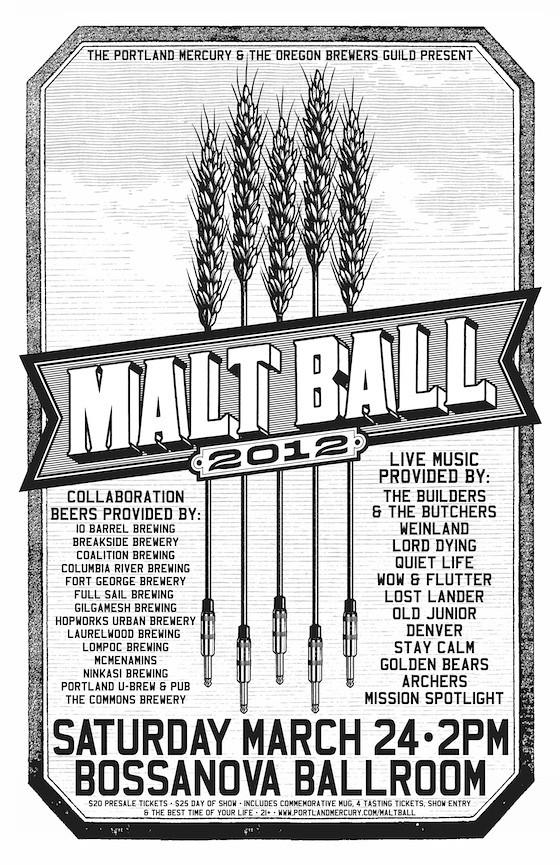 Malt Ball Poster