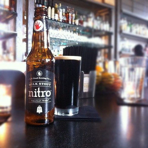 Left Hand Milk Stout Nitro!