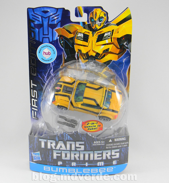 Transformers Bumblebee Deluxe - Prime First Edition - caja