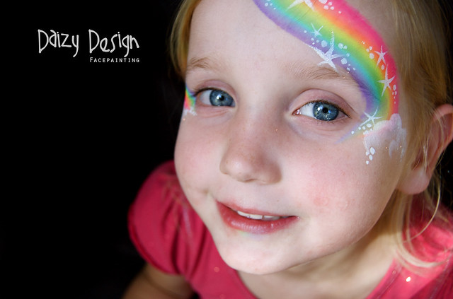 Face Painting Rainbow Designs Rainbow Face Painting Flickr