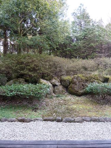 トスラブ箱根 和奏林 客室から望む庭
