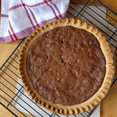 pie. chocolate pie.