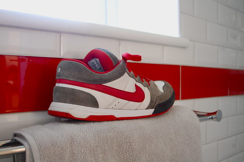 I based our new bathroom on my trainers
