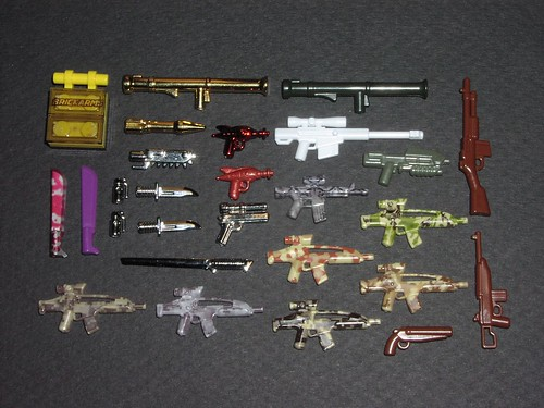 BrickArms Rares, Camo, and Chrome