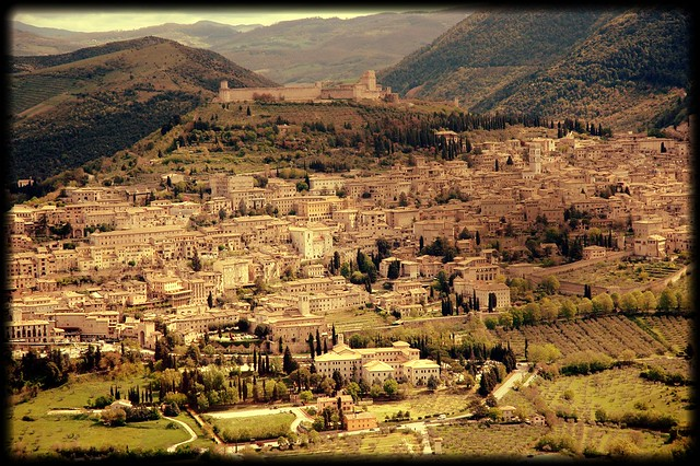 Assisi from above