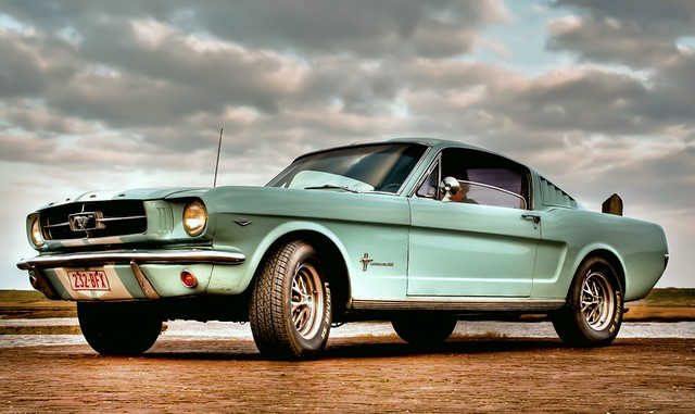 Baby blue Mustang. | Flickr - Photo Sharing!