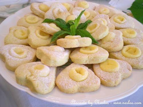 Krem Peynirli Kurabiye